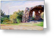 Two Civilizations. Greeting Card