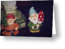 Two Colorful Dudes Greeting Card