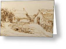 Two Cottages At Saintes Maries De La Mer Greeting Card