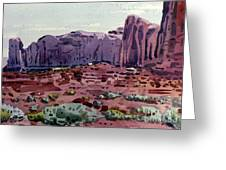 Two Elephants Butte Greeting Card
