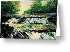 Two Falls Greeting Card