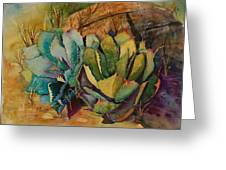 Two Fat Agaves 300 Lb Greeting Card