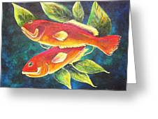 Two Fish Greeting Card