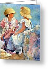 Two Hats Greeting Card