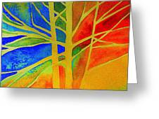 Two Lives Intertwined  Greeting Card by Julie Lueders