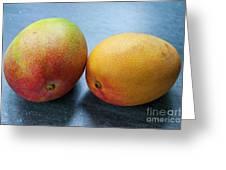 Two Mangos Greeting Card