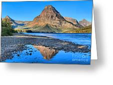 Two Medicine Reflections Greeting Card