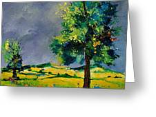 Two Oaks 56 Greeting Card