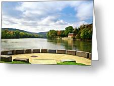 Two Rivers Confluence Park Greeting Card