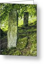 Two Standing Stones Greeting Card
