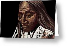 Two Strike Sioux Greeting Card