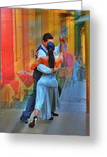 Two Tango Greeting Card