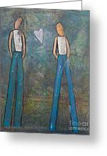 Two To Tango Greeting Card