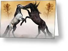 Two To Tango Greeting Card