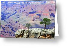 Two Tree Rock Greeting Card