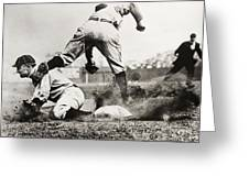 Ty Cobb Gets A Triple Greeting Card