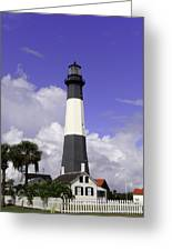 Tybee Island Lighthouse Greeting Card
