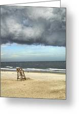 Tybee Island Storm Greeting Card