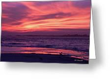 Tybee Island Sunset Greeting Card