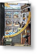 Tycho Brahe (1546-1601) Greeting Card
