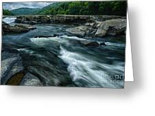 Tygart Valley River Greeting Card