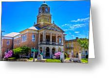 Tyler County Courthouse Greeting Card