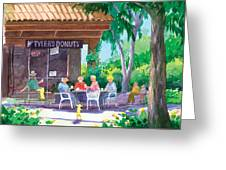 Tylers Donuts Greeting Card
