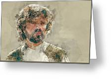 Tyrion Lannister, Game Of Thrones Greeting Card
