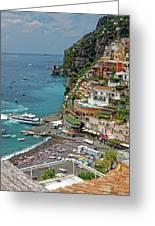 Tyrrhenian Sea Amalfi Coast Greeting Card