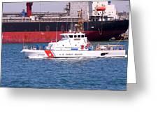 U S Coast Guard Greeting Card