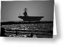 U S S Harry S Truman Cvn75 Greeting Card