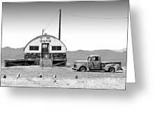 U - We Wash - Death Valley Greeting Card