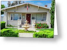 Suburban Arts And Crafts Hayward California 18 Greeting Card