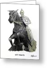 Ucf Knights Greeting Card