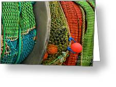 Ucluelet Fishing Nets Greeting Card