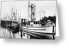 Ucluelet Harbour - Vancouver Island Bc Greeting Card