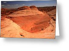 Ufo In Coyote Buttes Greeting Card
