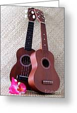 Ukulele Duet Greeting Card