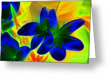 Ultraviolet Greeting Card