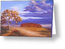 Uluru  - Ayers Rock Greeting Card