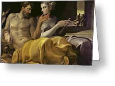 Ulysses And Penelope Greeting Card