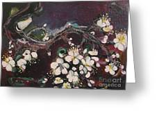 Ume Blossoms Greeting Card