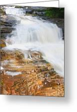 Umpachene Falls Greeting Card