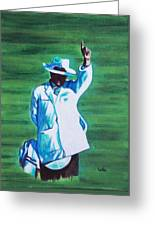 Umpiring Greeting Card