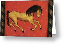 Unbridled ... From The Tapestry Series Greeting Card