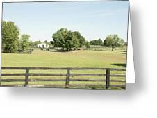 Unbridled Farm Greeting Card