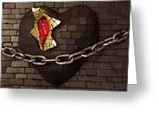 Unchain My Heart Greeting Card