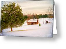 Uncle Bob's Cabin Greeting Card