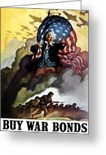 Uncle Sam - Buy War Bonds Greeting Card