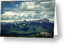 Uncompahgre Colorado Alpine Greeting Card